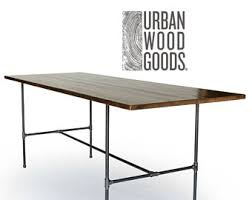 Bar Height Conference Table Solid Wood Conference Table Made With Reclaimed Wood 2 5