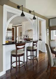 DIY Builtin Breakfast Bar Dining Table Bar Areas Breakfast - Dining room bar