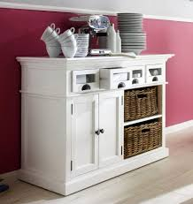 Wicker Storage Chest Of Drawers Stockholm White Painted Mahogany Furniture Glazed Glass 2 Doors