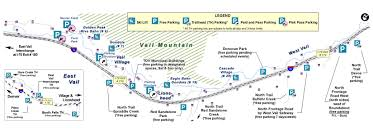 Map Of Colorado Ski Areas by Town Of Vail U003e Departments U003e Public Works U003e Transportation And