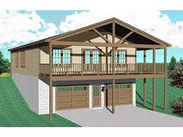 Home Plan Com 062g 0081 2 Car Garage Apartment Plan With Modern Style 2 Car