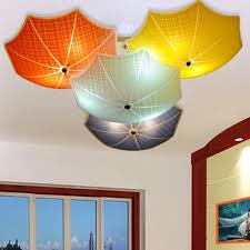 Children Bedroom Lighting Modern Children Bedroom Ceiling Ls Multicolour Umbrella Glass