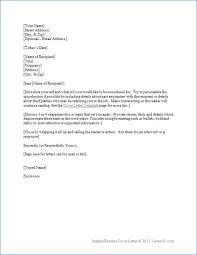 resume cover letter outline