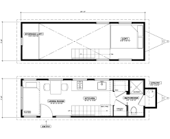 Cottage Floor Plans With Loft by Unita Tiny House Oregon Cottage Company