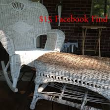 Charleston Outdoor Furniture by Diy Outdoor Pillows And Charleston Green Wicker Furniture Rehab