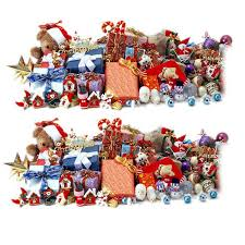 complete tree ornament sets houzz ziabella plush tree
