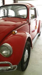 Vw Beetle Classic Interior 1967 Vw Beetle Red Black Interior 4 Speed For Sale Photos