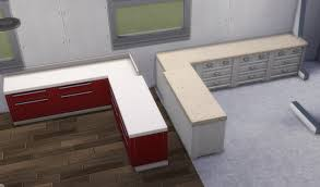 how to make a corner kitchen cabinet sims 4 solved not a bug counters change size when placed in