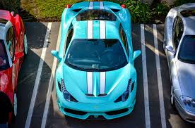 blue ferrari tiffany blue ferrari 458 speciale looks fantastic