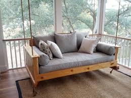 Daybed Porch Swing Swinging Daybed Porch Swing The Daniel Island Swing Bed Free