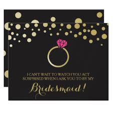 bridesmaid invitations uk bridesmaid invitations announcements zazzle co uk