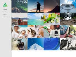 free art or photography website templates 206 free css