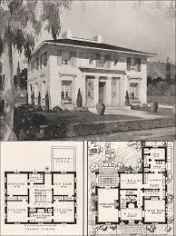 italian home plans italian renaissance style house francis pierpont davis 1916