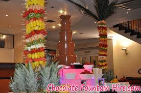 Palm Trees Fruit - fruit palm tree displays chocolate fountain hire