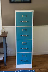 Teal File Cabinet How To Paint And Makeover A Metal File Cabinet Clearfield