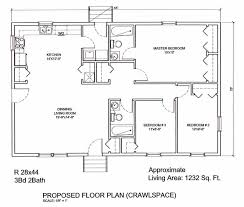 bright and modern 15 32x40 single story house plans one with open