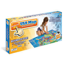 United States Map Quiz Online by Amazon Com Electronic Kids Map Of The United States 500
