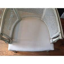 mid century modern barrel chairs a pair chairish