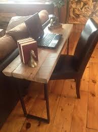 vieux bureau en bois table en vieux bois de grange 2 d épaisseur 514 244 0652 déco