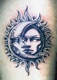 sun and moon tattoo love it tattoo ideas pinterest moon