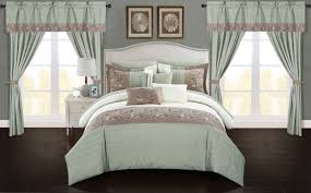 home design comforter chic home sonita 20 comforter set color block bed in a bag