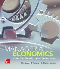 managerial economics 12th ed documents