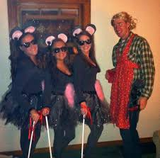 3 Blind Mice Costume 3 Blind Mice And The Farmers U0027 Wife Costume For Halloween Holiday