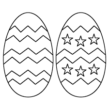 easter egg template clipart 96