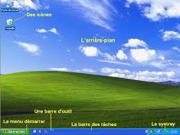 logiciel icone bureau découvrir le bureau l informatique facile