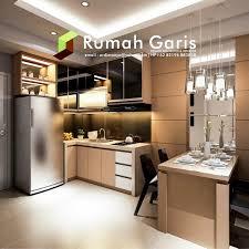 kitchen set minimalis modern desain dapur kitchen set interior apartemen konsep klasik modern