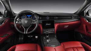 maserati quattroporte interior black the new quattroporte restyling and range strategy for a new