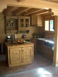 cuisine montagne meubles de montagne en bois 1 am233nagement de cuisine
