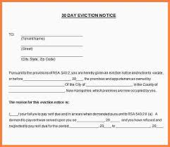 eviction notice sample letters lukex co