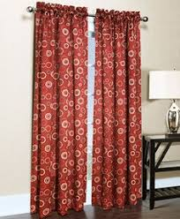 Martha Stewart Curtains Home Depot Martha Stewart Living Barn Pageant Back Tab Curtain 84 In Length
