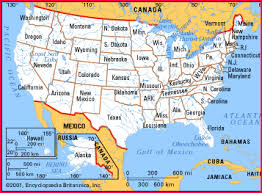 map usa oceans map usa oceans major tourist attractions maps
