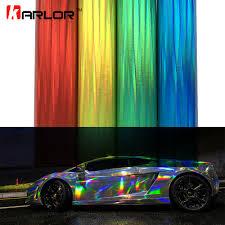 rainbow chrome lamborghini 30 100cm laser plating vinyl holographic auto car wrap film