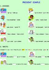 english exercises simple present