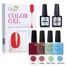 amazon com gel nail polish uv led gel polish set with dry fast