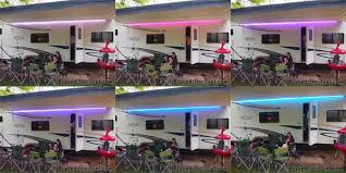 Camper Awnings For Sale Fun With Lights Spicing Up Your Camper With Led Lights Beyond