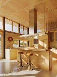 maison interieur bois une moderne maison passive à l u0027esprit éclectique située sur la