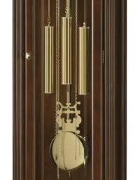 Contemporary Grandfather Clock Clockway Howard Miller Nicea Chiming Traditional Grandfather