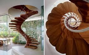 Wooden Spiral Stairs Design 25 Unique And Creative Staircase Designs Bored Panda