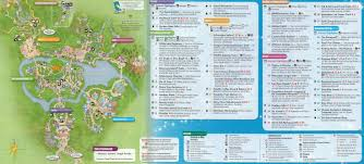 Disney Epcot Map Walt Disney World Animal Kingdom Map 2014 Kennythepirate Com