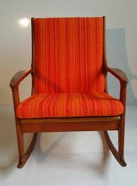 Rocking Chair Teak Wood Rocking Midcentury Danish Modern Teak Rocking Chair At 1stdibs
