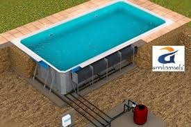 prefabricated pools fabricated swimming pool manufacturer ghaziabad prefabricated