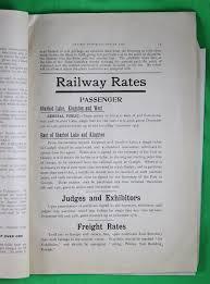1901 ontario provincial winter fair premium list and entries