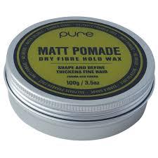 Pomade Wax matt pomade fibre hold wax 100g buy at ry