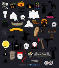 free halloween vector icon pack download