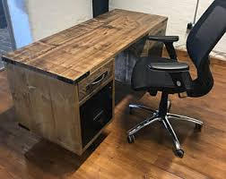 Office Desk Vintage Rustic Industrial Furniture With A Trendless By Trendlesshandmade