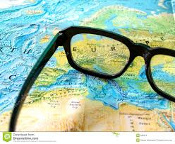 Personal World Map by Glasses On World Map Royalty Free Stock Photo Image 589375